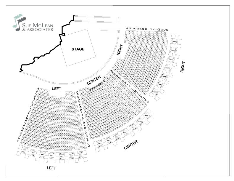 Seating Map Sue Mclean Associates